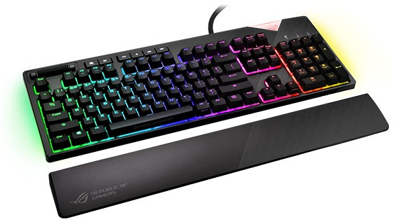 ASUS Republic of Gamers lansează tastatura mecanică de gaming ROG Strix Flare