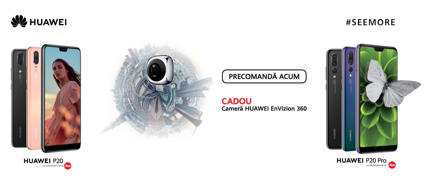 Noile modele Huawei P20 disponibile pentru precomanda