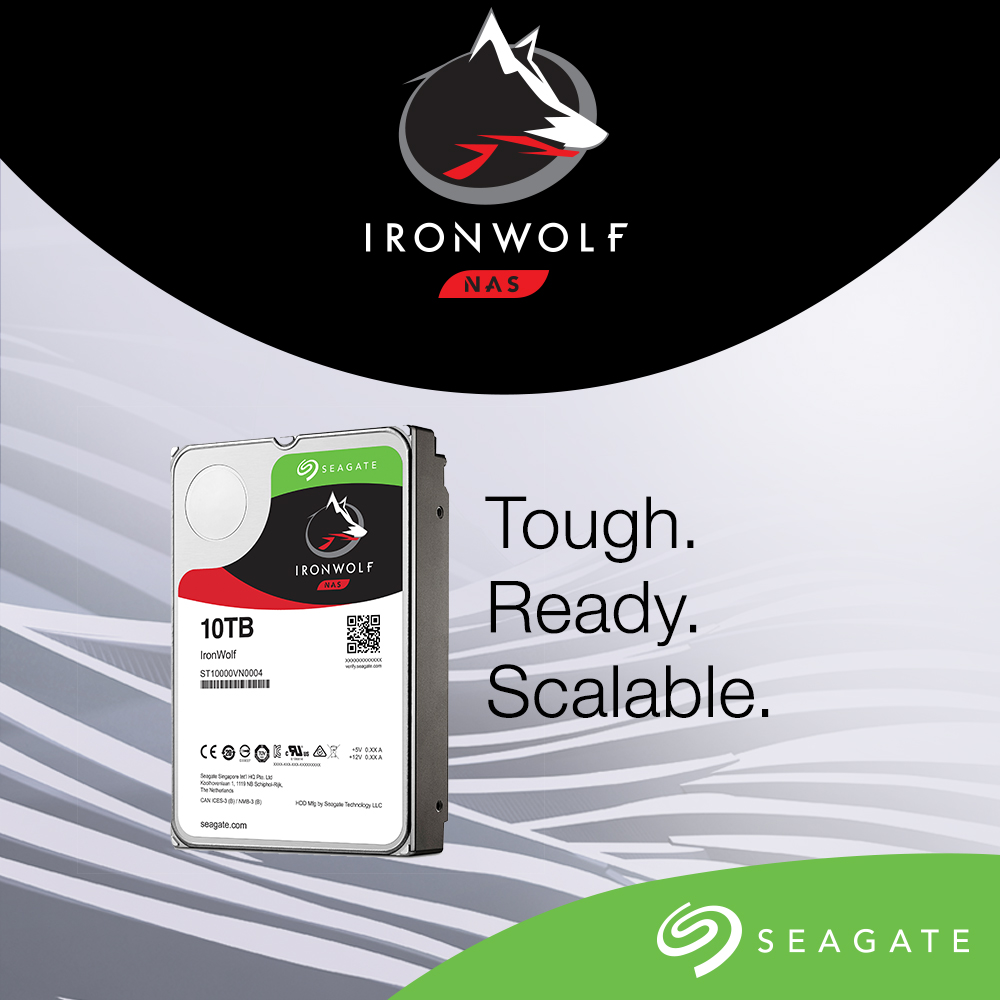Seagate AgileArray – tehnologii dedicate pentru echipamente NAS