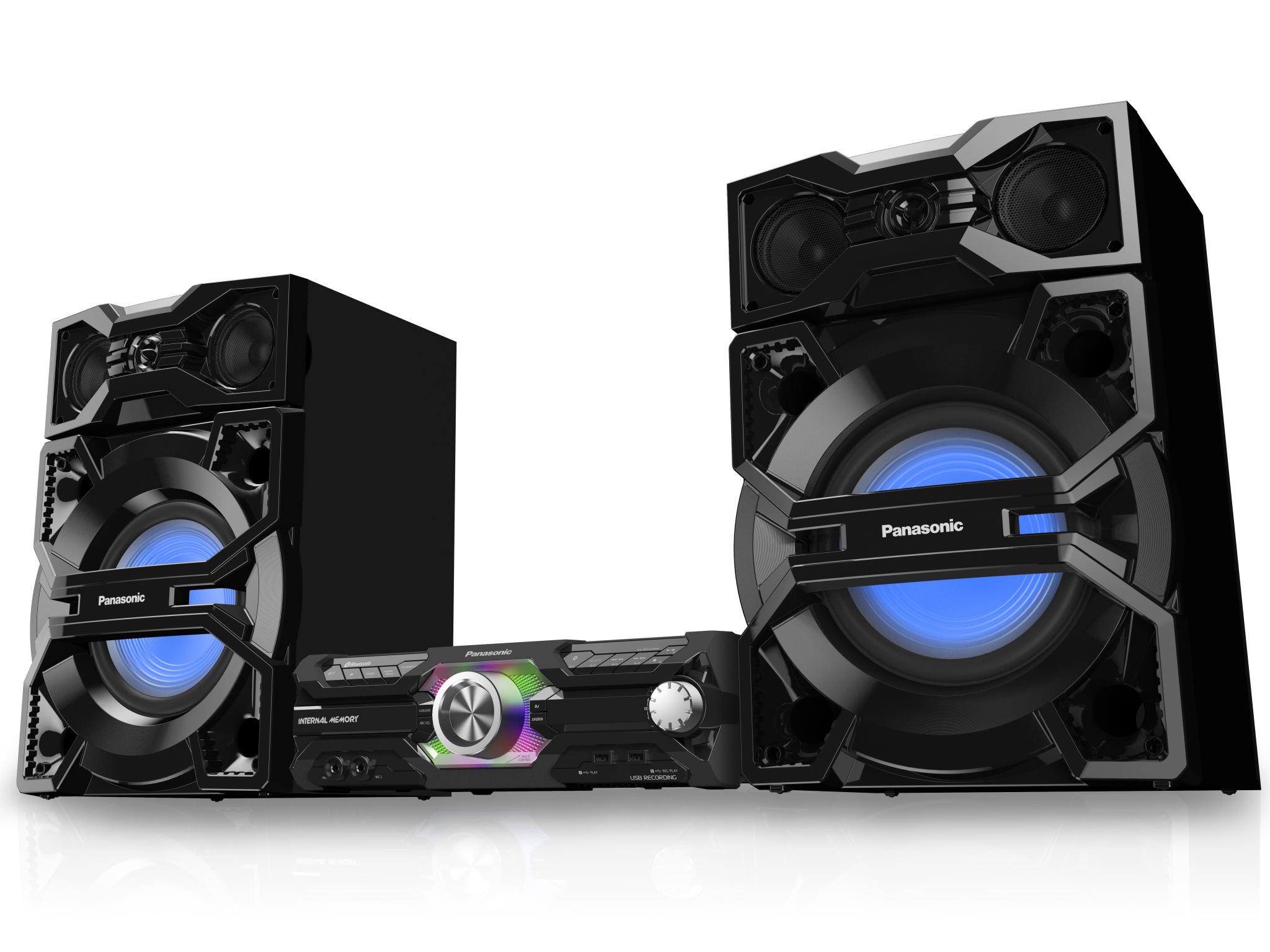 Noile sisteme audio Panasonic oferă experienţe muzicale perfect adaptate oricărui stil de viaţă