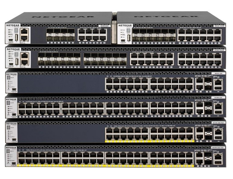 NETGEAR M4300-96X elimină complexitatea mediilor AV-over-IP