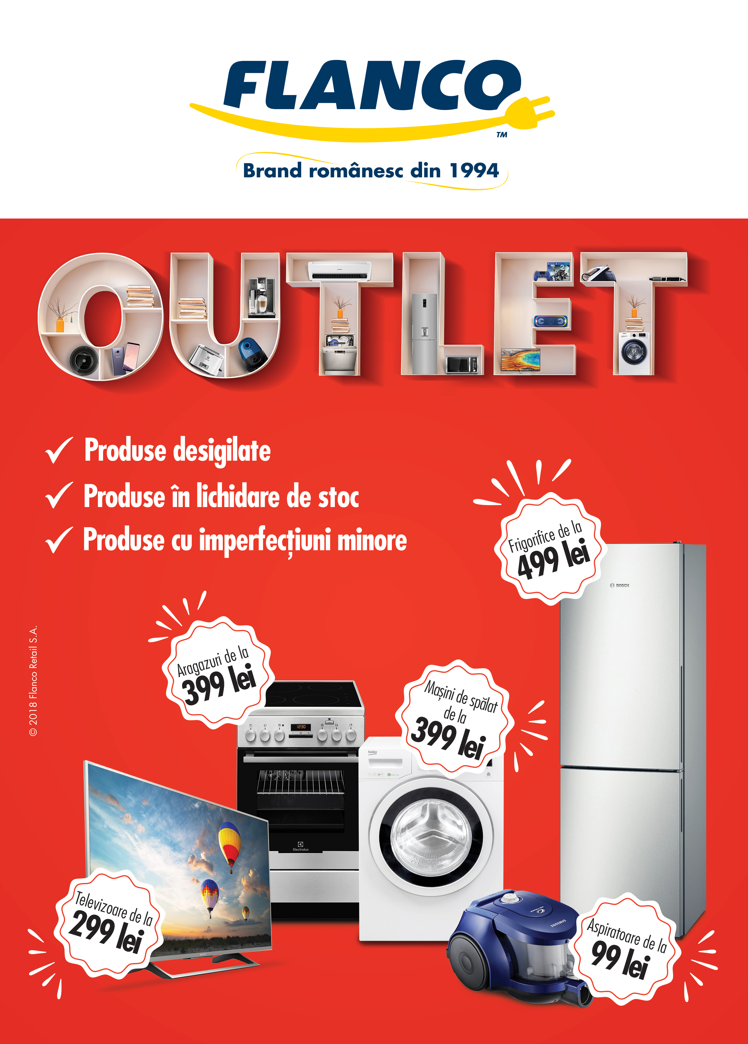 Flanco lanseaza primul OUTLET Electro-IT
