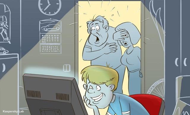 12% dintre minori sunt dependenti de Internet