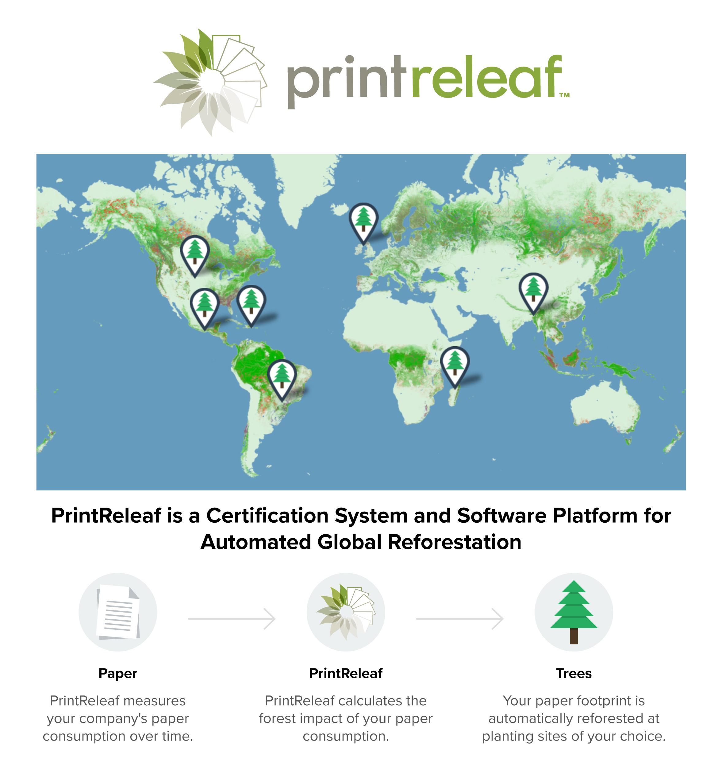 Xerox și PrintReleaf contribuie la reîmpădurirea planetei