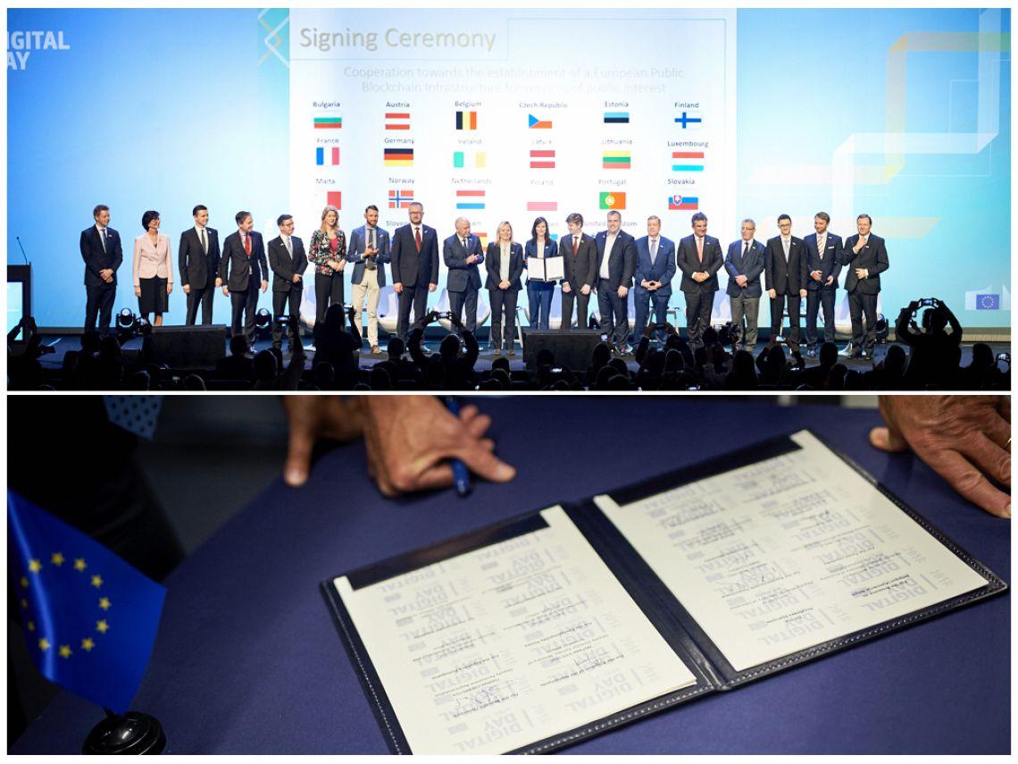 Parteneriat european pentru blockchain