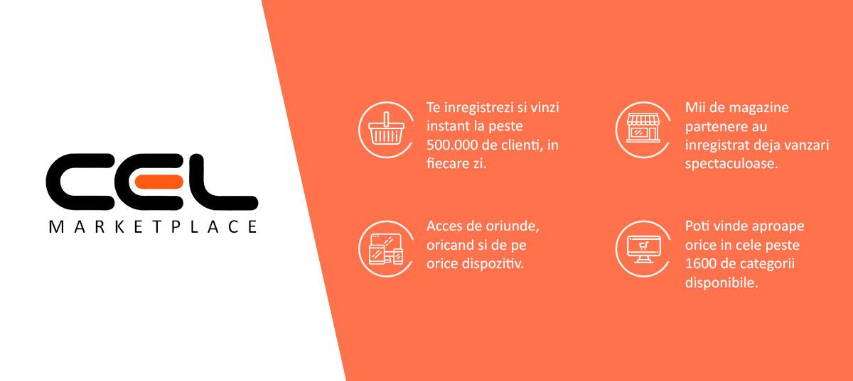 CEL.ro lanseaza Marketplace