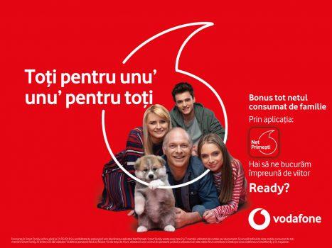 Traficul consumat de date mobile aduce bonusuri clienților Vodafone