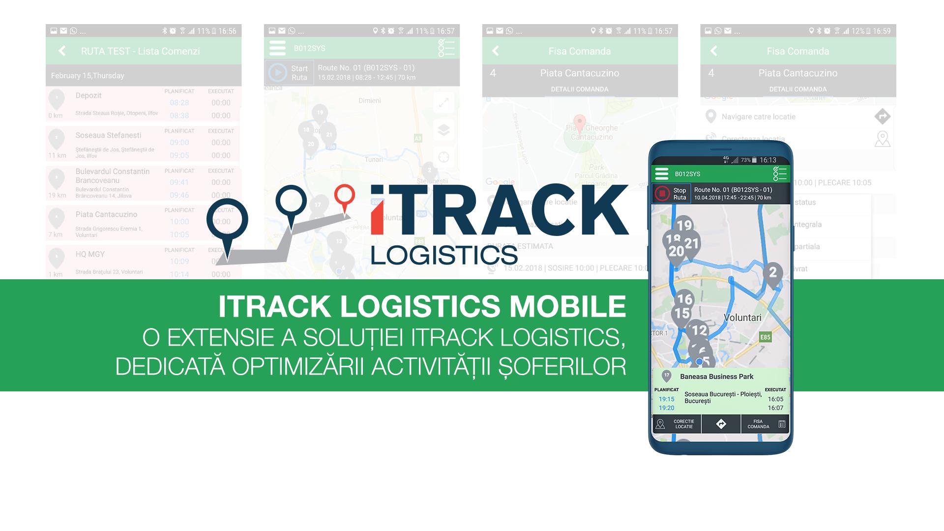 iTrack Logistics asigură gestiunea flotelor auto prin GPS