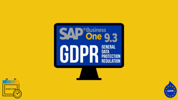 SAP Business One și GDPR
