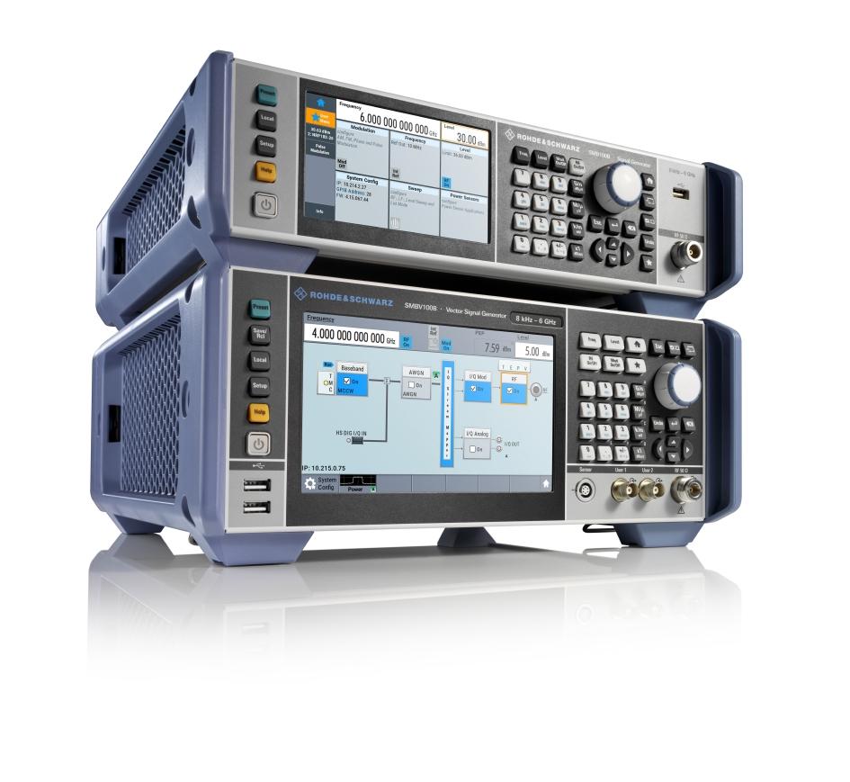 Două generatoare noi de semnale de la Rohde & Schwarz stabilesc standarde în clasa de până la 6 GHz