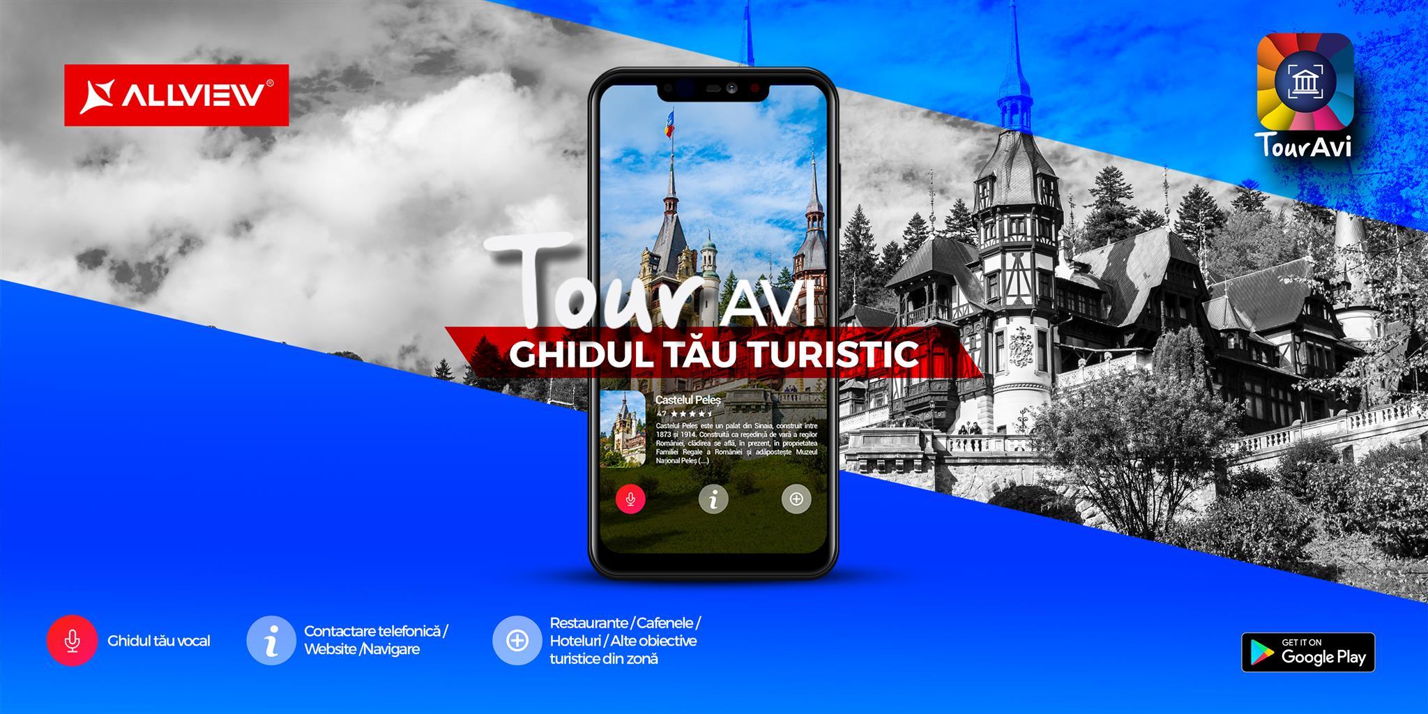 Aplicația Touravi, ghidul turistic vocal personal