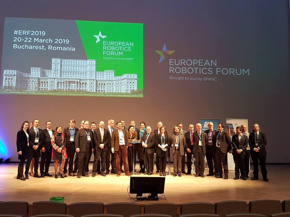 Industria de robotică din Europa vine la Bucureşti!
