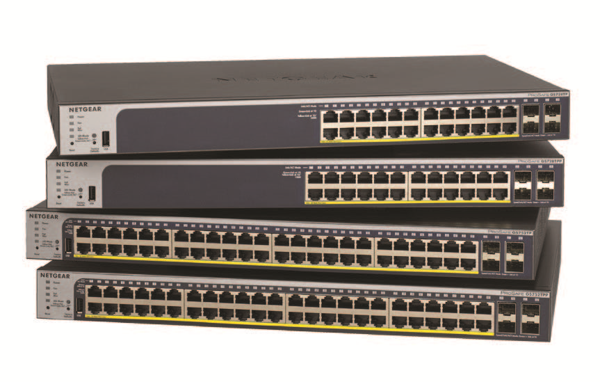 Gigabit PoE+ Smart Managed Pro Switches