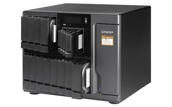 QNAP lansează serverul NAS TS-1635AX echipat cu un procesor puternic, sloturi M.2 și 10GbE