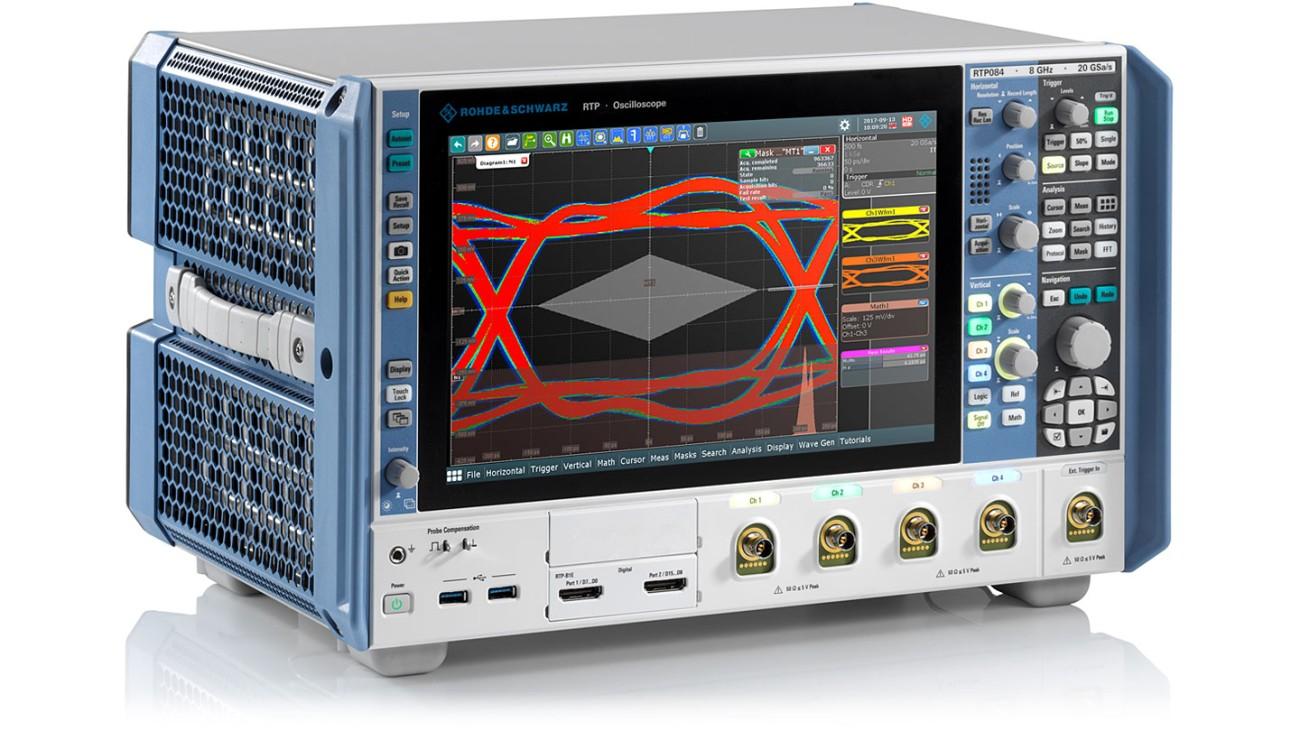 Un nou osciloscop de mare performanţă de la Rohde & Schwarz
