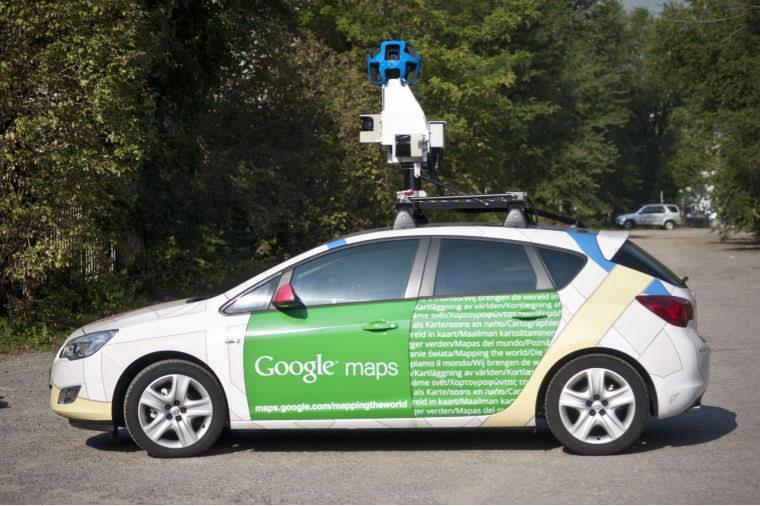 Mașinile Google Street View, din nou pe drumuri