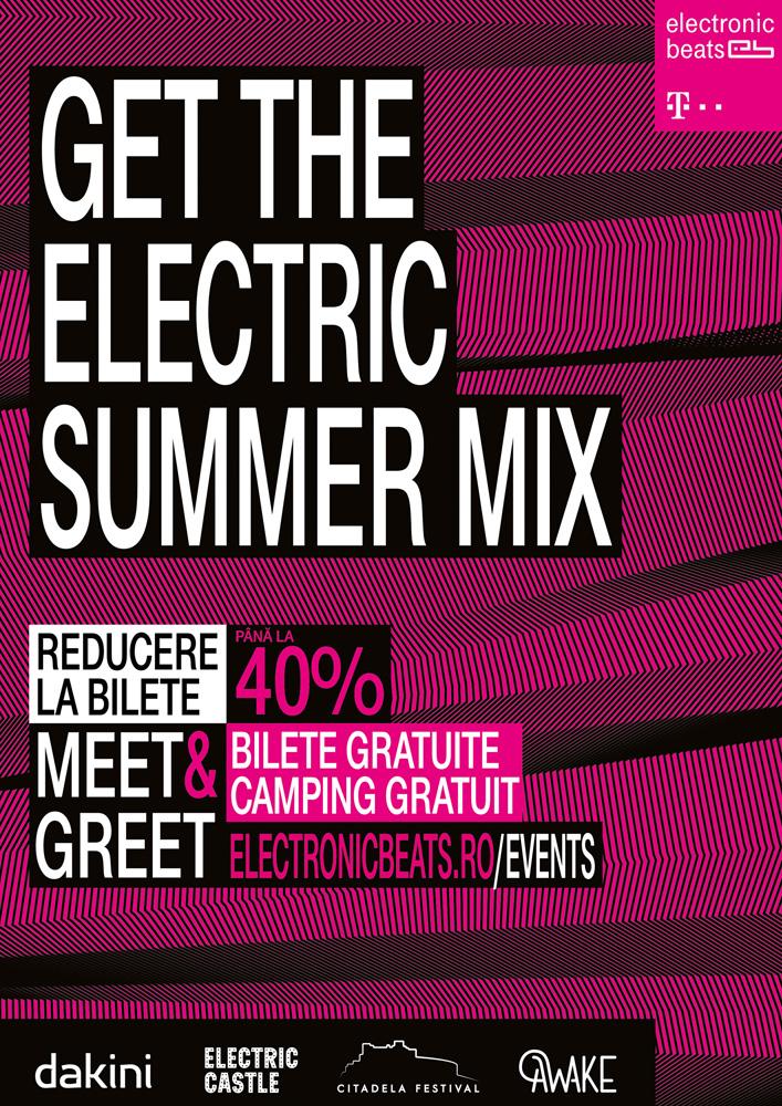 Telekom Romania anunță lista festivalurilor de muzică partenere din vara aceasta și până la 40% reducere la bilete pentru clienți