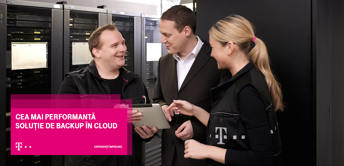 Noua soluție Telekom Cloud Backup