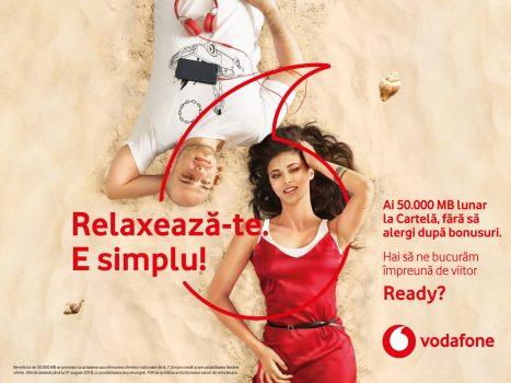 Utilizatorii Cartelei Vodafone beneficiază de oferte simplificate