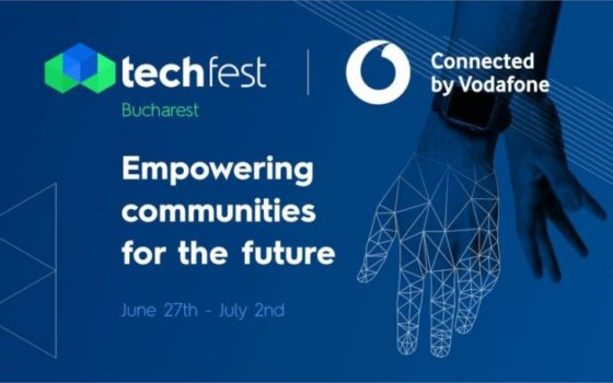 TechFest connected by Vodafone se mută in toamnă