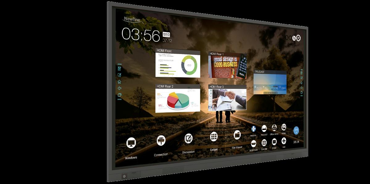 Ecranele interactive tactile, viitorul colaborării în mediul de business