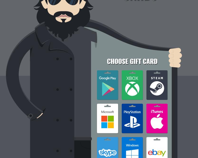 Infractorii folosesc carduri cadou false pentru a determina utilizatorii sa furnizeze date personale