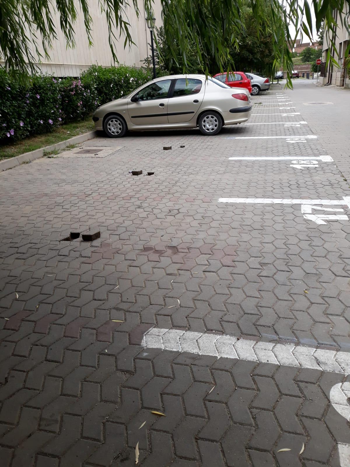 35 de senzori de parcare montați în municipiul Alba Iulia