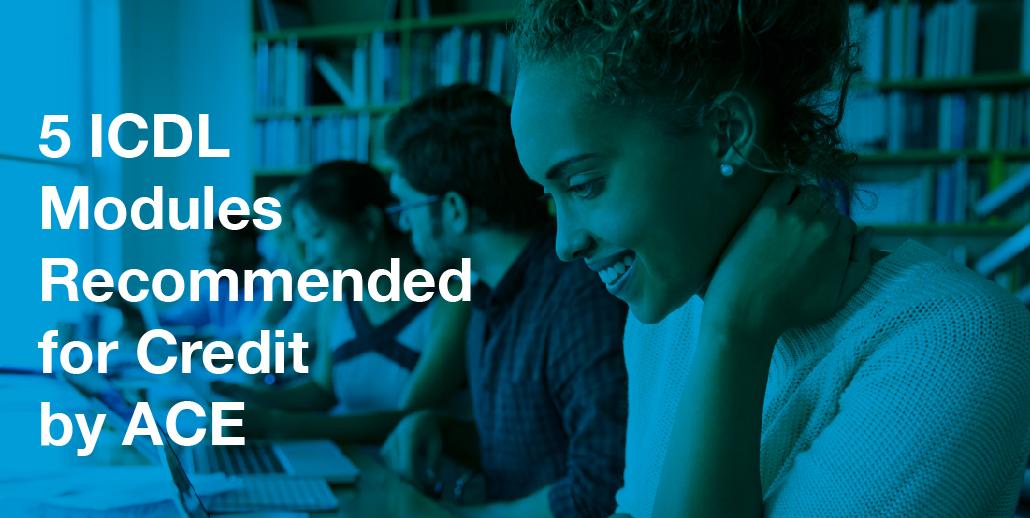 Ce module ECDL sunt recomandate pentru credite la facultate de către Consiliul American pentru Educaţie