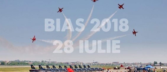 Bucharest International Air Show transmis live prin camerele Axis