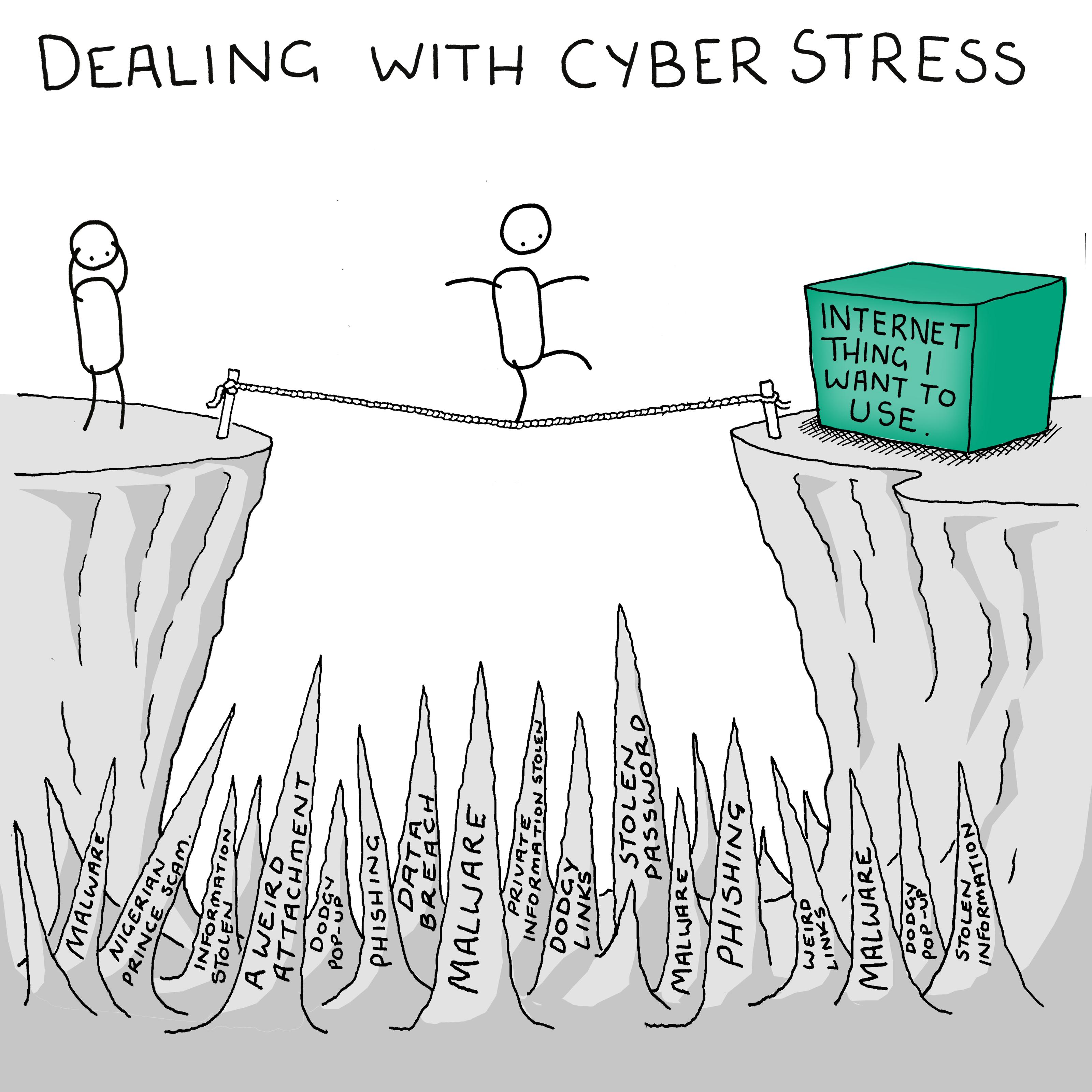 Stresul cibernetic pune stăpânire pe europeni
