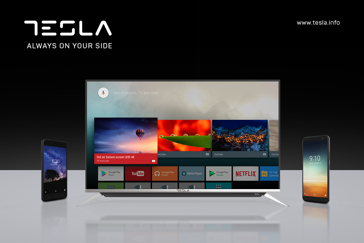 Produsele electronice Tesla se lansează în România