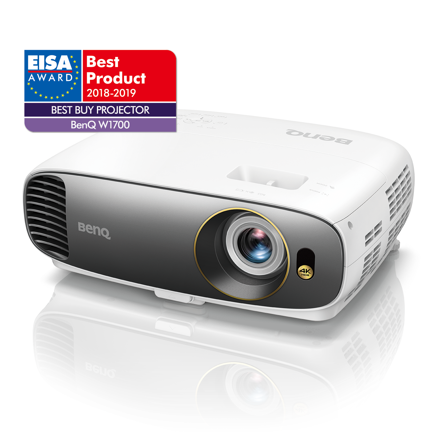BenQ W1700 câștigă prestigioasa distincţie EISA Best Buy Projector 2018-2019