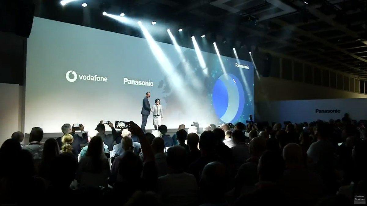 Panasonic și Vodafone conectează aparate electrocasnice utilizând tehnologia Narrowband-IoT
