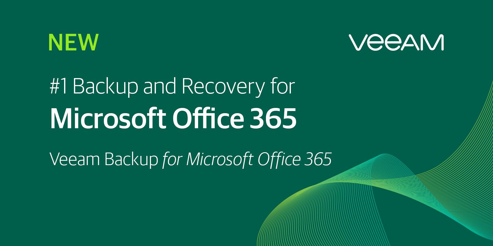 Noua versiune Veeam Backup pentru Microsoft Office 365 Versiunea 2 extinde hiper-disponibilitatea cu protecția datelor