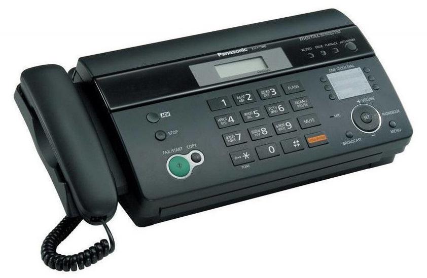Ameninţarea banalului fax