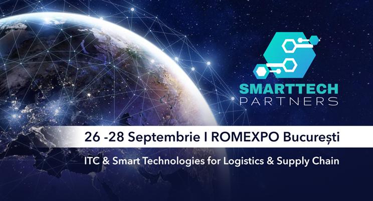 SMARTTECH for SUPPLY CHAIN își deschide porțile între 26 și 28 septembrie 2018, pavilion B1, Romexpo
