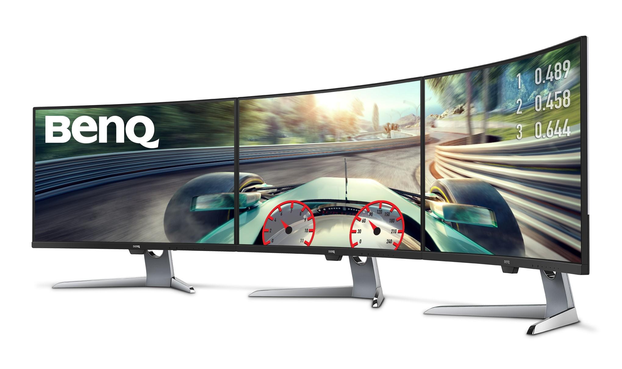 BenQ EX3203R, gigantul de gaming cu ecran curbat