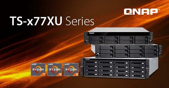 Puterea Ryzen în servere NAS cu montare în rack