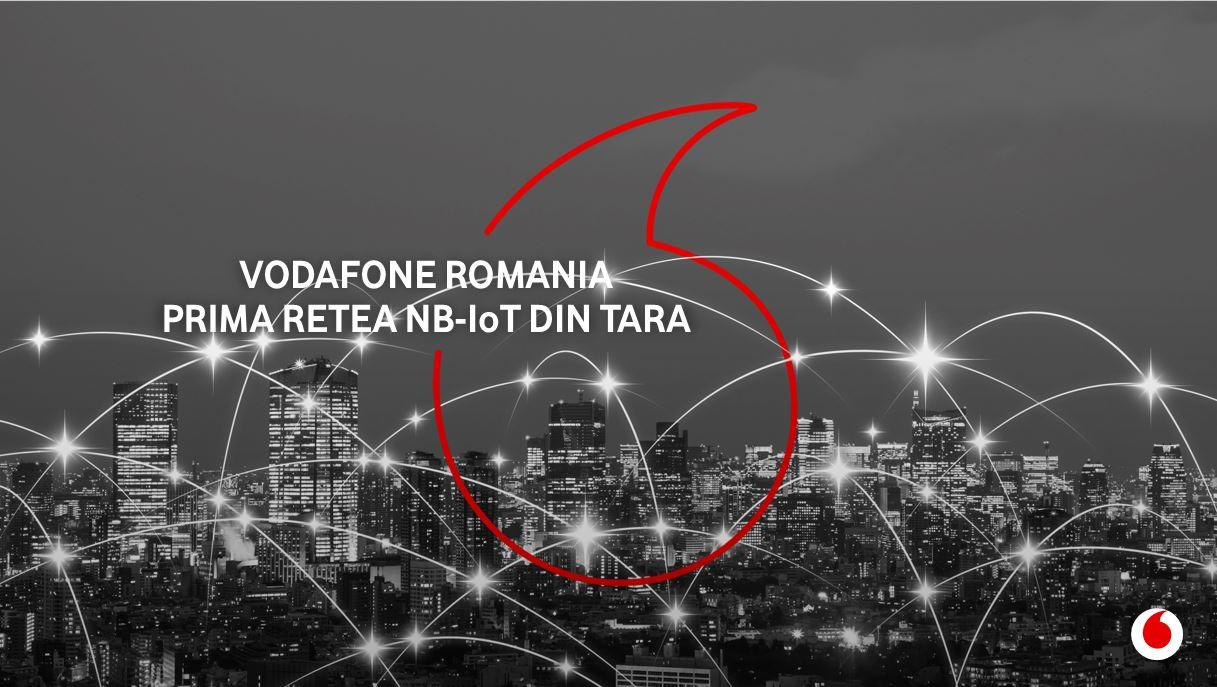 Vodafone oferă acoperire națională pentru servicii NarrowBand-IoT