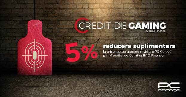 PC Garage lansează Creditul de Gaming!