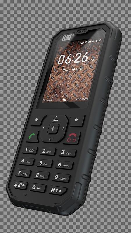 Cu noul telefon funcţional Cat® B35 Smart 4G veţi rămâne conectaţi mai mult timp