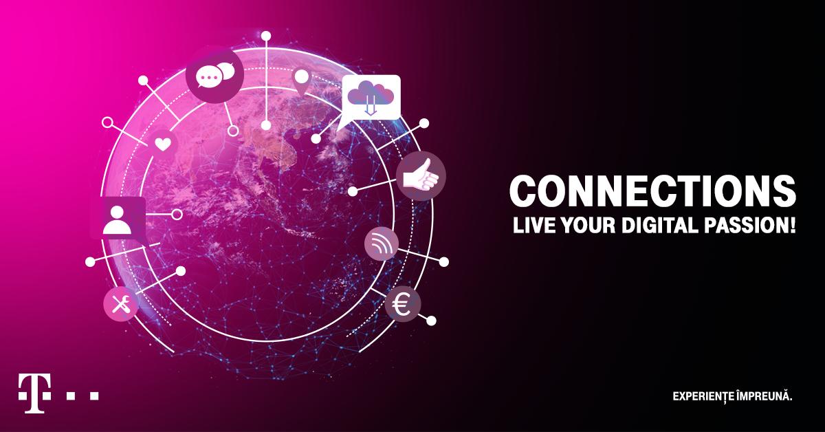 Connections, powered by Telekom Romania,  evenimentul care își propune să dezbată comunicarea în noua eră digitală