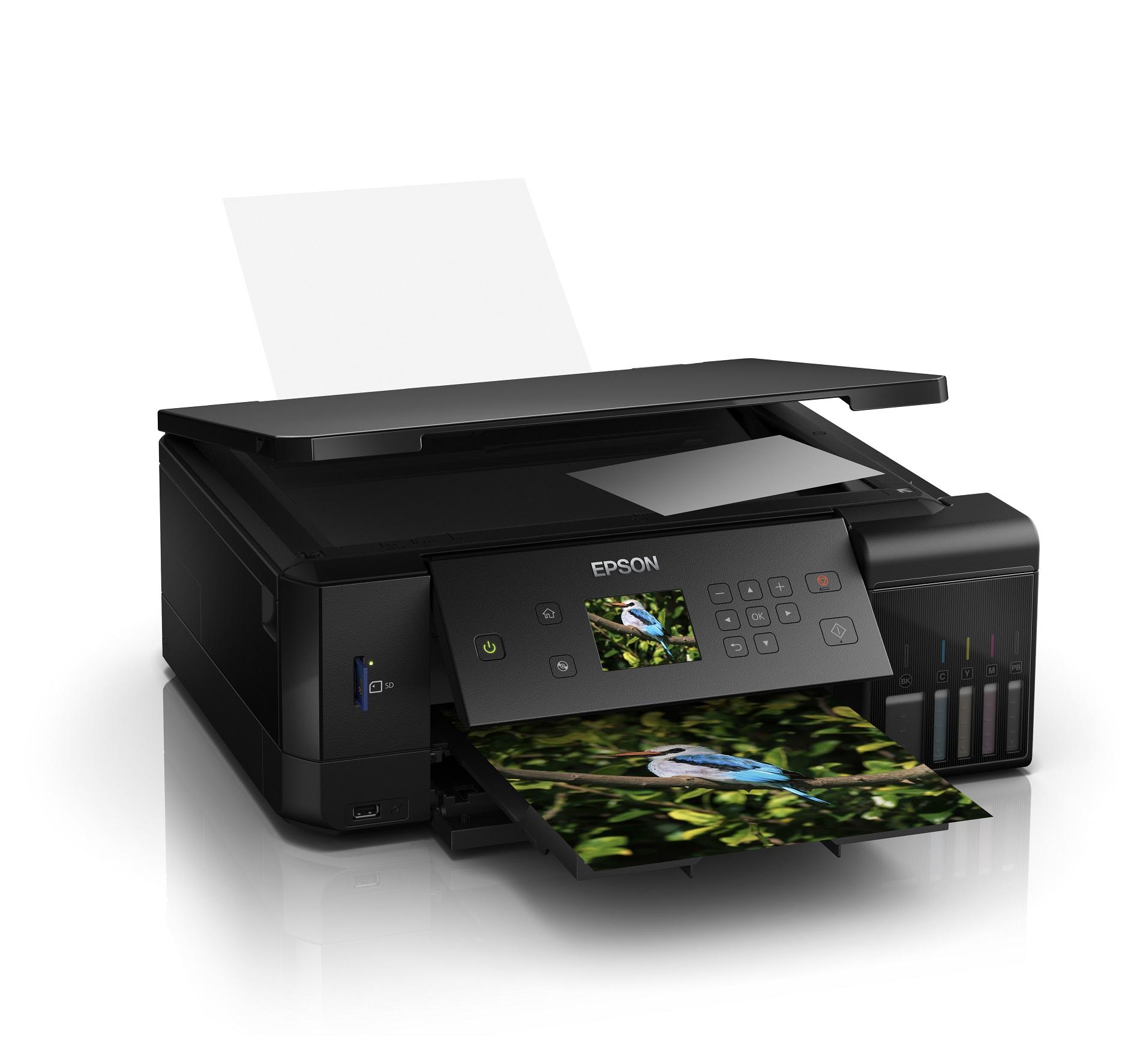 Noile imprimante foto cu 5 culori din gama Epson EcoTank