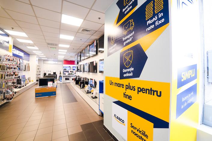 Servicii noi pentru clienții Flanco
