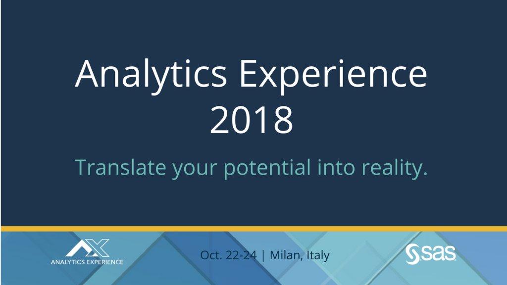 Analytics Experience 2018: află cum este redefinită inovația de instrumentele de Analiză a Datelor