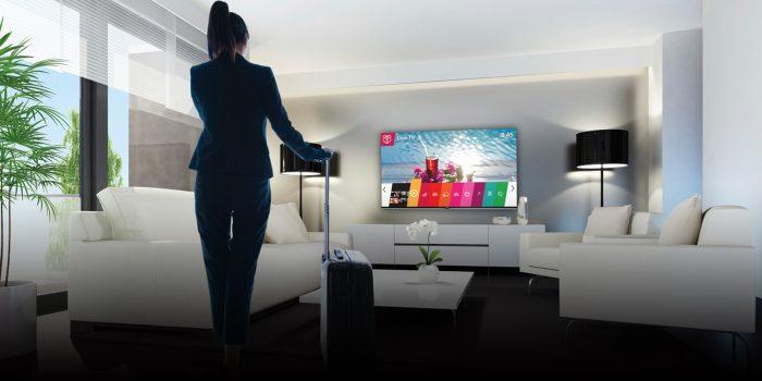 LG oferă o soluție hotelieră interactivă cu personalizare de conținut