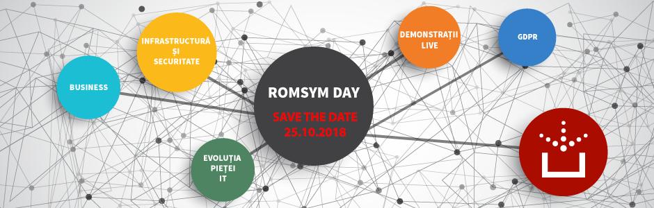 Romsym Day 2018 va avea loc în 25 octombrie!