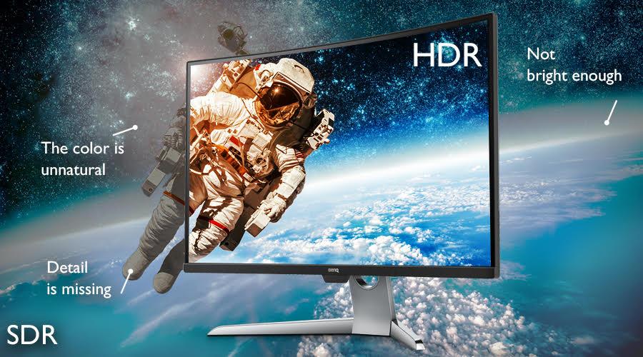 """BenQ EX3501R, un monitor pentru divertisment dotat cu ecran curbat de 35"""""""