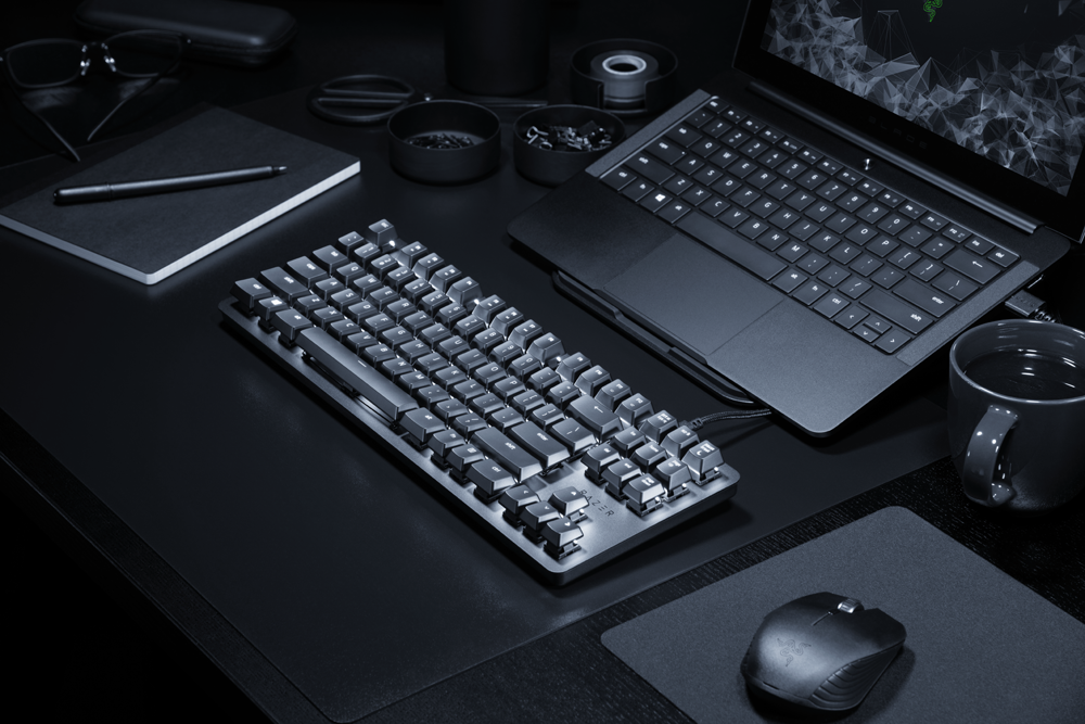 Razer Blackwidow Lite, tastatura de birou cu componente de gaming