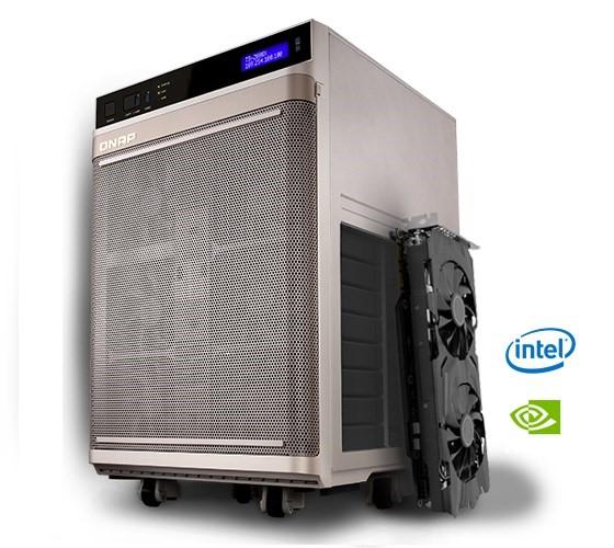 QNAP NAS TS-2888X, serverul pregătit pentru inteligența artificială